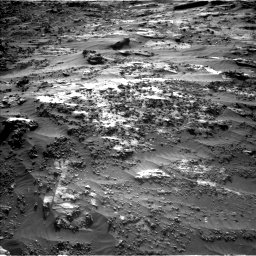 Nasa's Mars rover Curiosity acquired this image using its Left Navigation Camera on Sol 3204, at drive 1684, site number 90