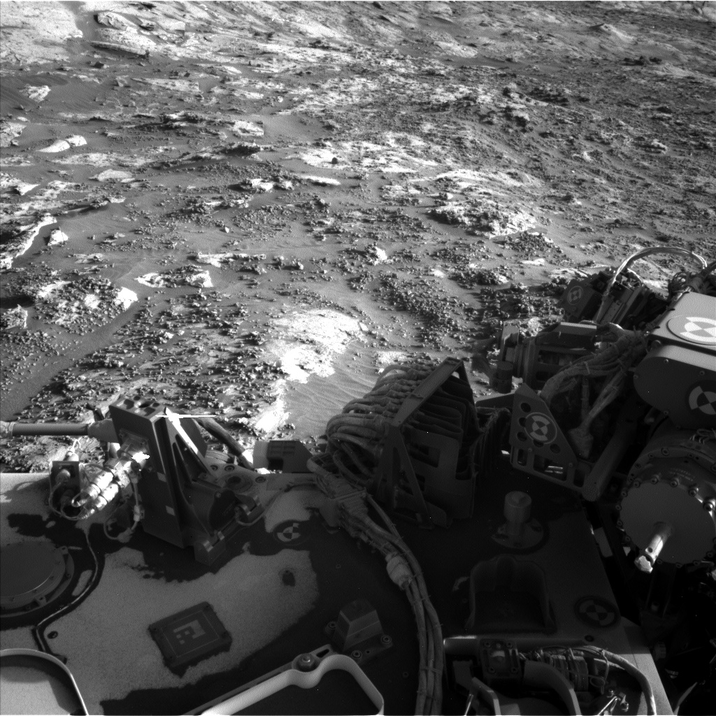 Nasa's Mars rover Curiosity acquired this image using its Left Navigation Camera on Sol 3204, at drive 1708, site number 90