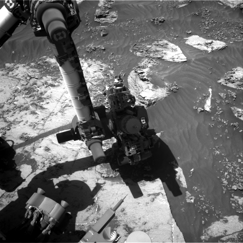 Nasa's Mars rover Curiosity acquired this image using its Right Navigation Camera on Sol 3204, at drive 1348, site number 90
