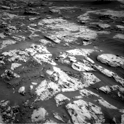 Nasa's Mars rover Curiosity acquired this image using its Right Navigation Camera on Sol 3204, at drive 1402, site number 90