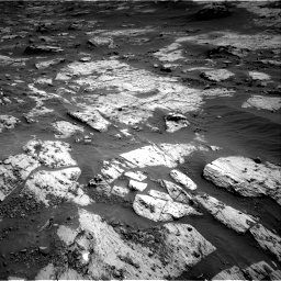 Nasa's Mars rover Curiosity acquired this image using its Right Navigation Camera on Sol 3204, at drive 1408, site number 90