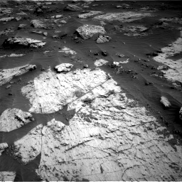 Nasa's Mars rover Curiosity acquired this image using its Right Navigation Camera on Sol 3204, at drive 1444, site number 90