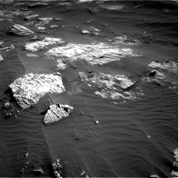 Nasa's Mars rover Curiosity acquired this image using its Right Navigation Camera on Sol 3204, at drive 1474, site number 90