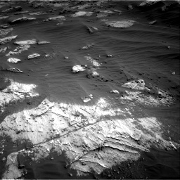 Nasa's Mars rover Curiosity acquired this image using its Right Navigation Camera on Sol 3204, at drive 1492, site number 90
