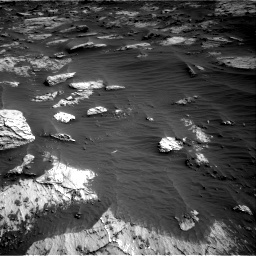 Nasa's Mars rover Curiosity acquired this image using its Right Navigation Camera on Sol 3204, at drive 1504, site number 90