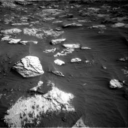 Nasa's Mars rover Curiosity acquired this image using its Right Navigation Camera on Sol 3204, at drive 1516, site number 90
