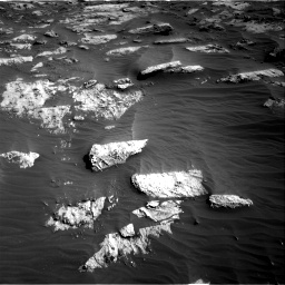 Nasa's Mars rover Curiosity acquired this image using its Right Navigation Camera on Sol 3204, at drive 1534, site number 90