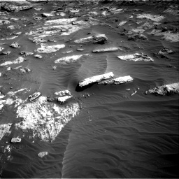 Nasa's Mars rover Curiosity acquired this image using its Right Navigation Camera on Sol 3204, at drive 1546, site number 90