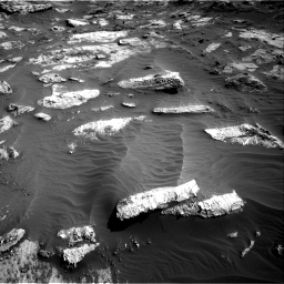 Nasa's Mars rover Curiosity acquired this image using its Right Navigation Camera on Sol 3204, at drive 1558, site number 90
