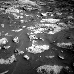 Nasa's Mars rover Curiosity acquired this image using its Right Navigation Camera on Sol 3204, at drive 1582, site number 90