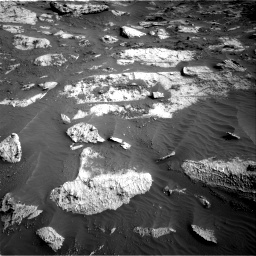 Nasa's Mars rover Curiosity acquired this image using its Right Navigation Camera on Sol 3204, at drive 1588, site number 90