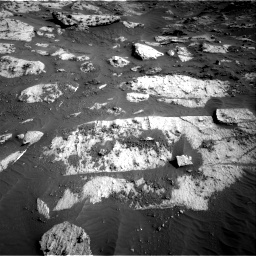 Nasa's Mars rover Curiosity acquired this image using its Right Navigation Camera on Sol 3204, at drive 1600, site number 90