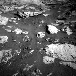 Nasa's Mars rover Curiosity acquired this image using its Right Navigation Camera on Sol 3204, at drive 1618, site number 90