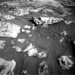Nasa's Mars rover Curiosity acquired this image using its Right Navigation Camera on Sol 3204, at drive 1636, site number 90