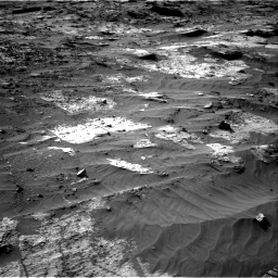 Nasa's Mars rover Curiosity acquired this image using its Right Navigation Camera on Sol 3204, at drive 1642, site number 90