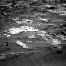 Nasa's Mars rover Curiosity acquired this image using its Right Navigation Camera on Sol 3204, at drive 1654, site number 90