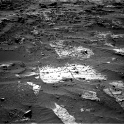 Nasa's Mars rover Curiosity acquired this image using its Right Navigation Camera on Sol 3204, at drive 1660, site number 90