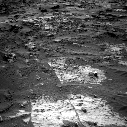 Nasa's Mars rover Curiosity acquired this image using its Right Navigation Camera on Sol 3204, at drive 1672, site number 90