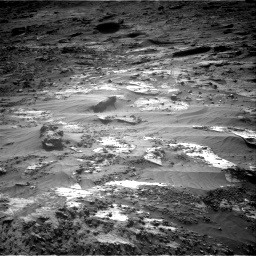 Nasa's Mars rover Curiosity acquired this image using its Right Navigation Camera on Sol 3204, at drive 1696, site number 90