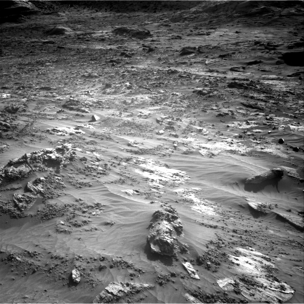 Nasa's Mars rover Curiosity acquired this image using its Right Navigation Camera on Sol 3204, at drive 1708, site number 90