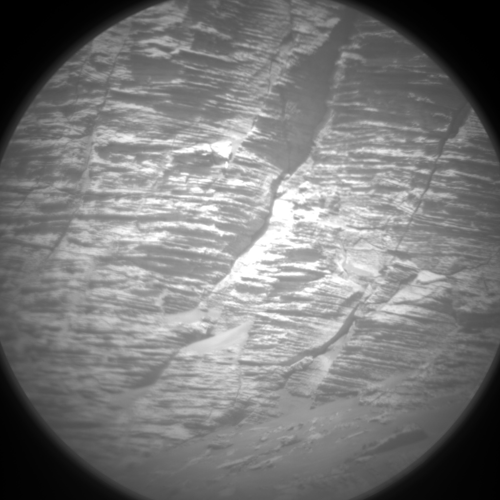 Nasa's Mars rover Curiosity acquired this image using its Chemistry & Camera (ChemCam) on Sol 3205, at drive 1708, site number 90