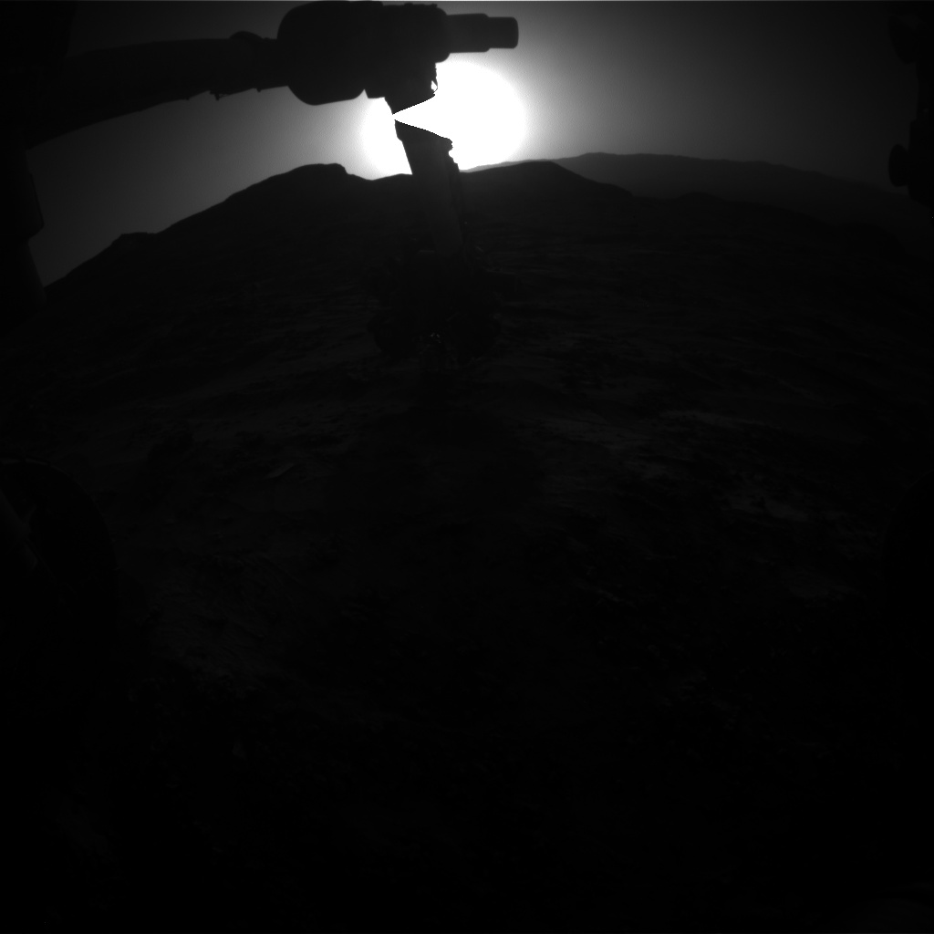 Nasa's Mars rover Curiosity acquired this image using its Front Hazard Avoidance Camera (Front Hazcam) on Sol 3205, at drive 1708, site number 90