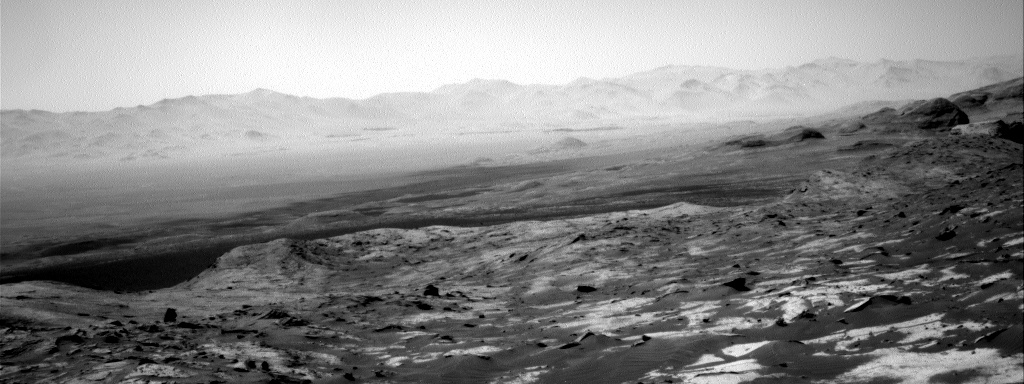 Nasa's Mars rover Curiosity acquired this image using its Right Navigation Camera on Sol 3205, at drive 1708, site number 90