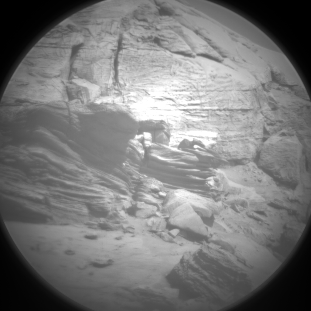 Nasa's Mars rover Curiosity acquired this image using its Chemistry & Camera (ChemCam) on Sol 3206, at drive 1708, site number 90