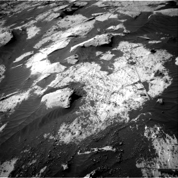 Nasa's Mars rover Curiosity acquired this image using its Right Navigation Camera on Sol 3206, at drive 1708, site number 90