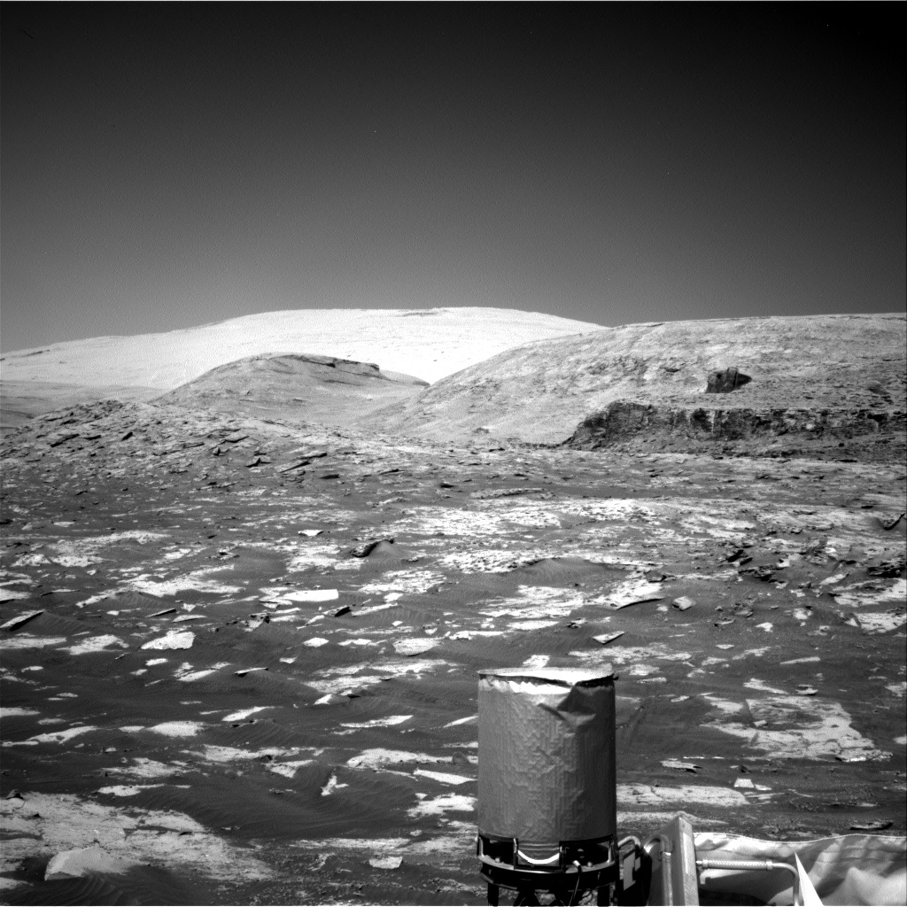 Nasa's Mars rover Curiosity acquired this image using its Right Navigation Camera on Sol 3206, at drive 1732, site number 90