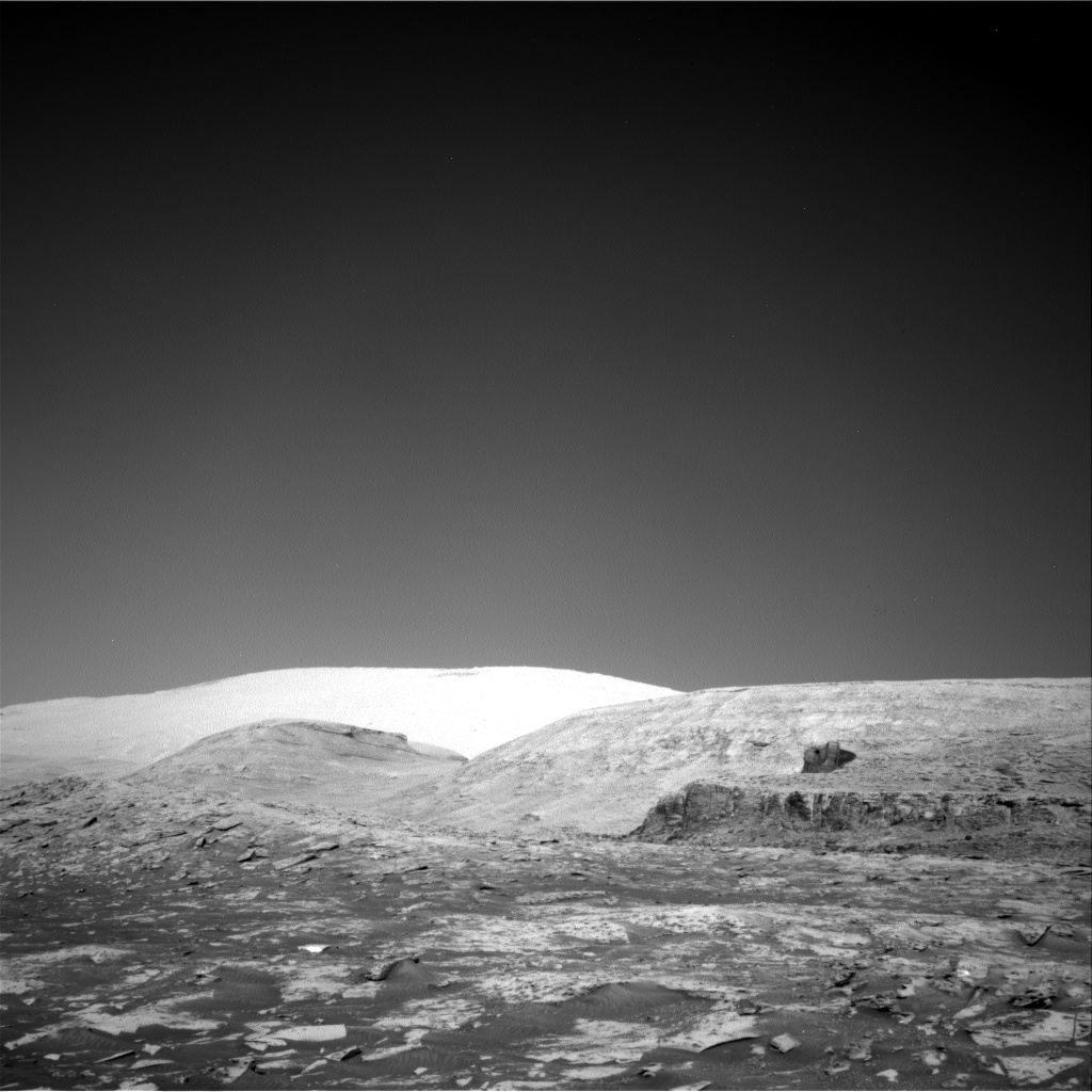 Nasa's Mars rover Curiosity acquired this image using its Right Navigation Camera on Sol 3208, at drive 1732, site number 90
