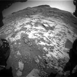 Nasa's Mars rover Curiosity acquired this image using its Front Hazard Avoidance Camera (Front Hazcam) on Sol 3209, at drive 1846, site number 90