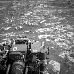 Nasa's Mars rover Curiosity acquired this image using its Left Navigation Camera on Sol 3209, at drive 1834, site number 90