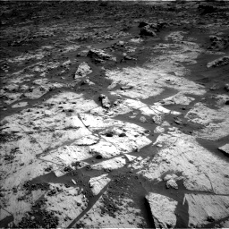 Nasa's Mars rover Curiosity acquired this image using its Left Navigation Camera on Sol 3209, at drive 1840, site number 90