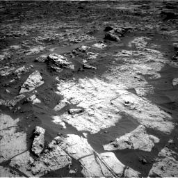 Nasa's Mars rover Curiosity acquired this image using its Left Navigation Camera on Sol 3209, at drive 1858, site number 90