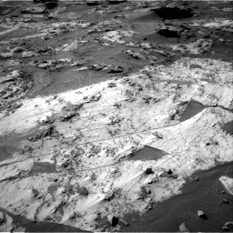 Nasa's Mars rover Curiosity acquired this image using its Right Navigation Camera on Sol 3209, at drive 1738, site number 90