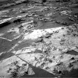 Nasa's Mars rover Curiosity acquired this image using its Right Navigation Camera on Sol 3209, at drive 1744, site number 90