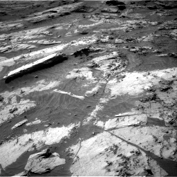 Nasa's Mars rover Curiosity acquired this image using its Right Navigation Camera on Sol 3209, at drive 1750, site number 90
