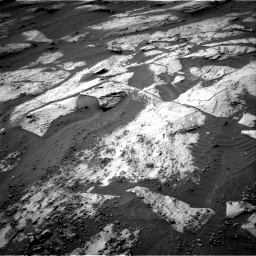 Nasa's Mars rover Curiosity acquired this image using its Right Navigation Camera on Sol 3209, at drive 1774, site number 90