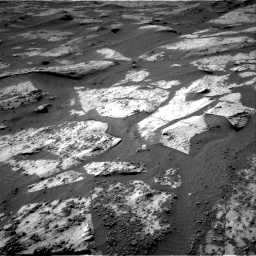 Nasa's Mars rover Curiosity acquired this image using its Right Navigation Camera on Sol 3209, at drive 1786, site number 90