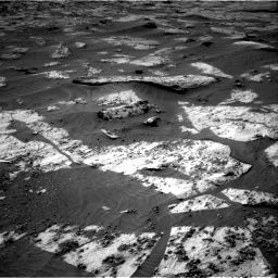 Nasa's Mars rover Curiosity acquired this image using its Right Navigation Camera on Sol 3209, at drive 1798, site number 90