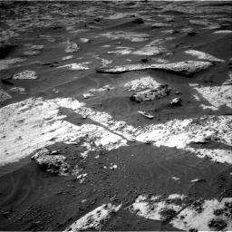 Nasa's Mars rover Curiosity acquired this image using its Right Navigation Camera on Sol 3209, at drive 1804, site number 90