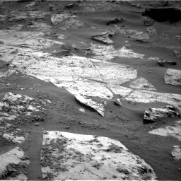 Nasa's Mars rover Curiosity acquired this image using its Right Navigation Camera on Sol 3209, at drive 1810, site number 90