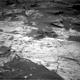 Nasa's Mars rover Curiosity acquired this image using its Right Navigation Camera on Sol 3209, at drive 1822, site number 90