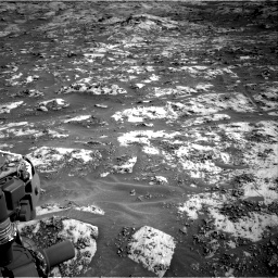 Nasa's Mars rover Curiosity acquired this image using its Right Navigation Camera on Sol 3209, at drive 1834, site number 90