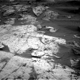 Nasa's Mars rover Curiosity acquired this image using its Right Navigation Camera on Sol 3209, at drive 1846, site number 90