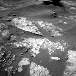 Nasa's Mars rover Curiosity acquired this image using its Left Navigation Camera on Sol 3210, at drive 1876, site number 90
