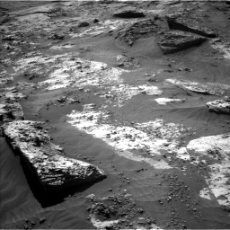 Nasa's Mars rover Curiosity acquired this image using its Left Navigation Camera on Sol 3210, at drive 1924, site number 90