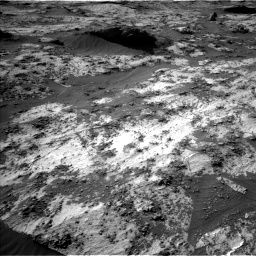 Nasa's Mars rover Curiosity acquired this image using its Left Navigation Camera on Sol 3210, at drive 2002, site number 90