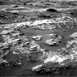 Nasa's Mars rover Curiosity acquired this image using its Left Navigation Camera on Sol 3210, at drive 2020, site number 90
